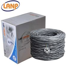 1000ft Pull Box Bulk Category 5e Ethernet Wire Gery UTP Cat5e Cable 4 Pair 24AWG Copper