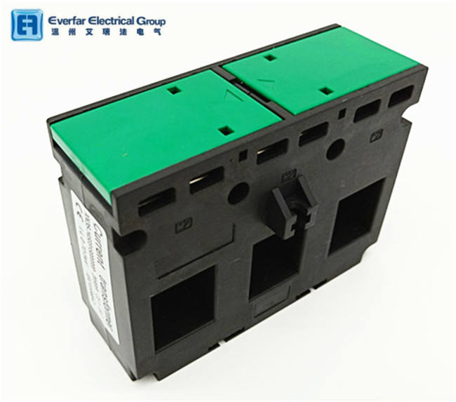 China Manufacturer 25*21mm DIN Rail Type TASN35 120/5A Cl.1 1.5VA 3phase Current Transformer