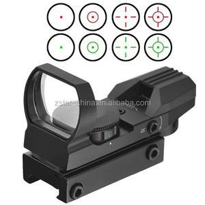 Red & Green laser anblick Dot Reflex Scope für pistole