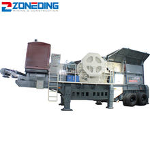 Top quality used mobile stone crushers mobile aggregate crushing plant price