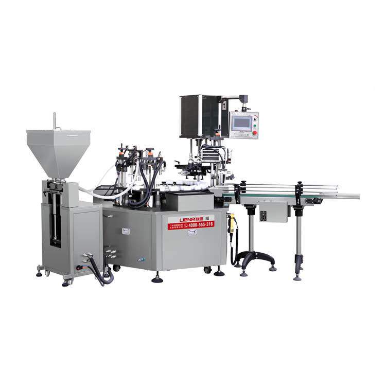 Automatic Cosmetics Ceam/Lotion/Ointment/Paste Filling Capping Machine Cosmetic Liquid Filling Machine