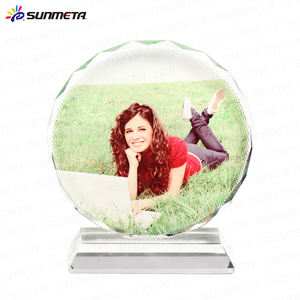Sublimation Crystal Photo Frame Wedding Souvenir Crystal Baby Born Souvenir