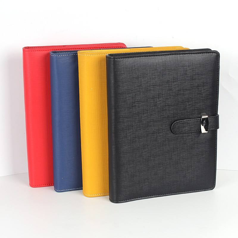 Cheap button A4/A5/A6 size soft cover pu leather notebook journal note book