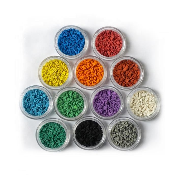 15 Years Factory Free Sample High Quality Playground Color Recycled EPDM Rubber Granule