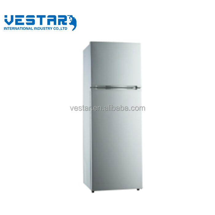 home appliance double door refrigerator white good quality wholesale fridge and freezers home or commercial use