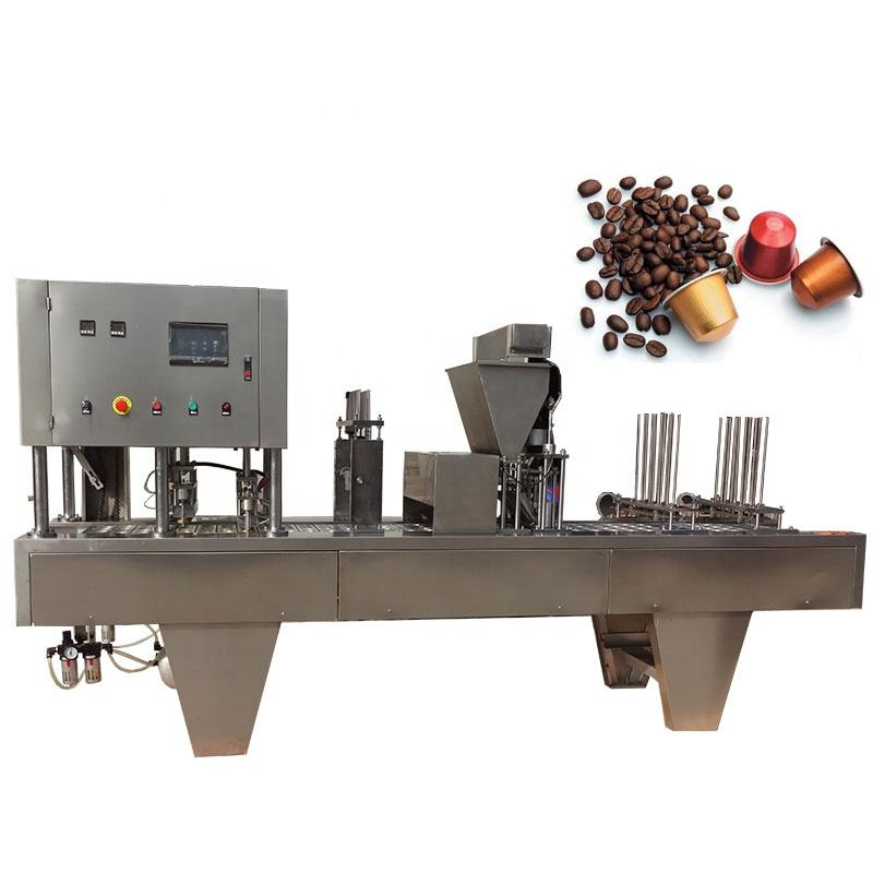 Shenhu coffee capsules production (automatic filling and sealing)