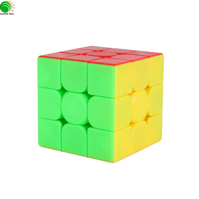 High Cost Performance Cube ! Cubing Classroom MeiLong 3x3x3 Stickerless Speed Puzzle Cube