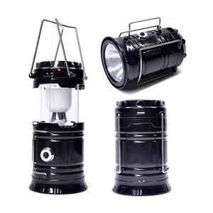Amazon Best Seller Get Free Sample 2018 Hot Selling Small Outdoor Extendable Outdoor Rechargeable LED Solar Camping Lantern