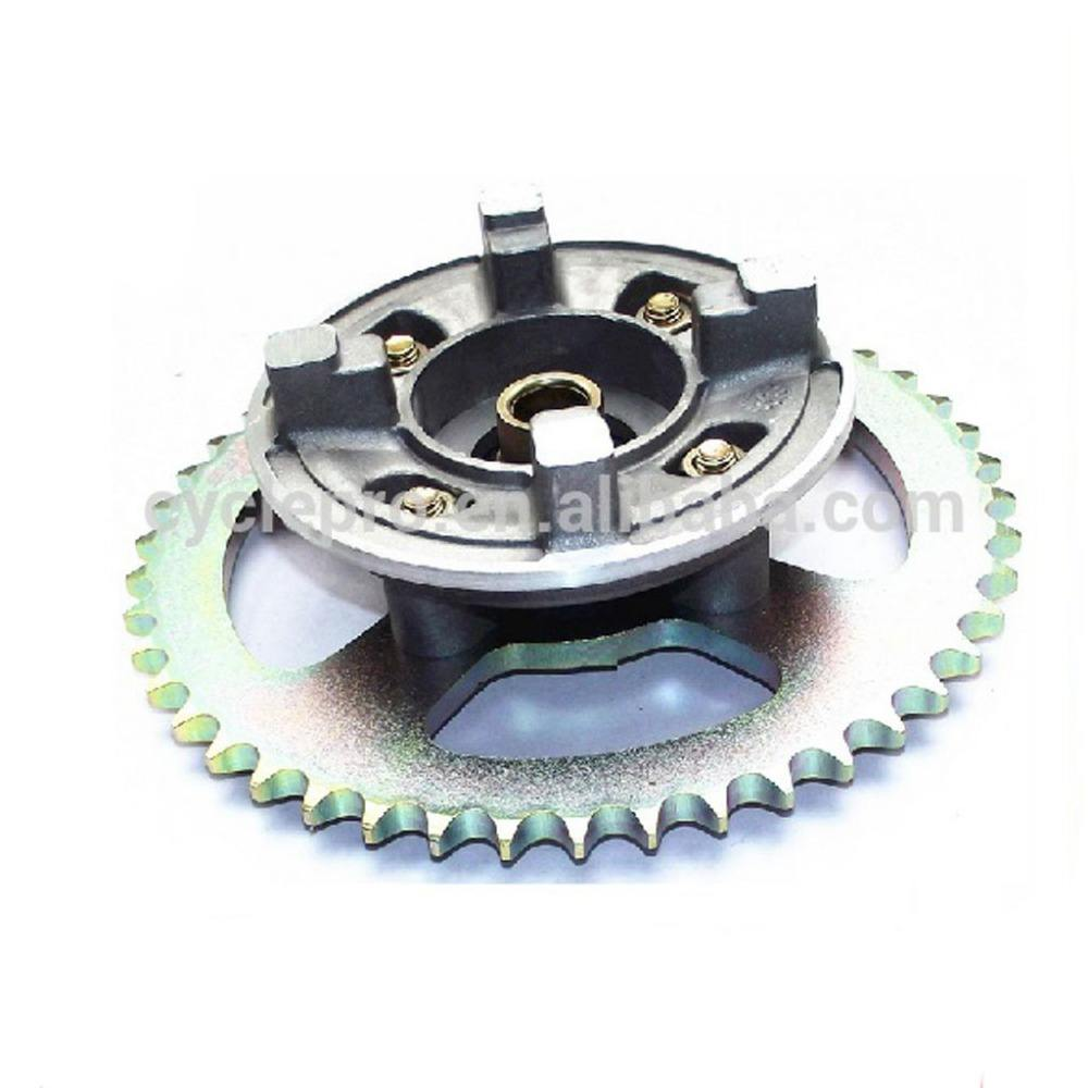 Motorcycle sprocket seat, cushion sprocket base complete with sprocket For CG125,AX100,GN125,CGL125,EN125,HJ125-7,YBR125,YB125,C