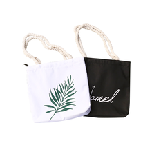OEM blank cotton grocery tote bags with custom printed logo