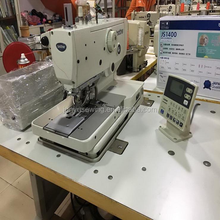 حديثا مستعملة الأخ RH-9820 العيينة عروة الخياطة الصناعية آلة