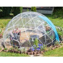 Guangzhou PVC Garden Pavilion / Circus Round Small Sleeping Tent for Sale