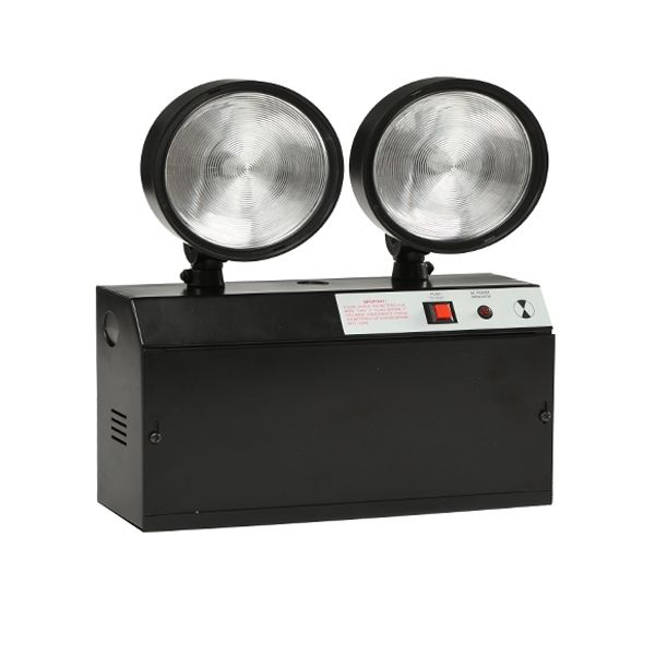 110 V/220 V no mantenido Doble Punto 4 W luz de emergencia led