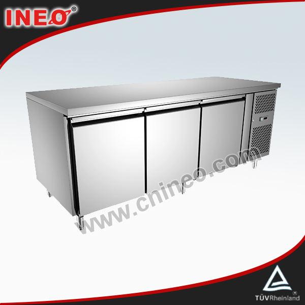 Commerciale porta 3 acciaioinossidabile ristorante cucina sottopiano freezer
