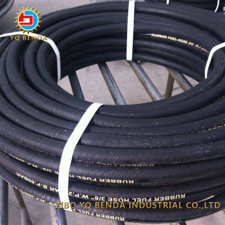 2 Inch Flexible Braided Colored Fuel Oil Hose Pipe