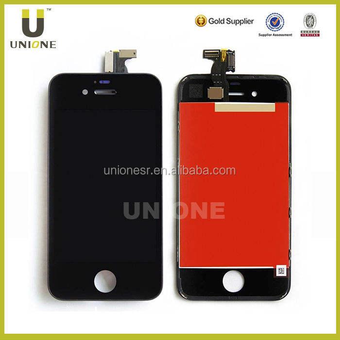 السلع من الصين الهاتف المحمول lcd شاشة تعمل باللمس لآيفون 4, 4 شاشة lcd آيفون