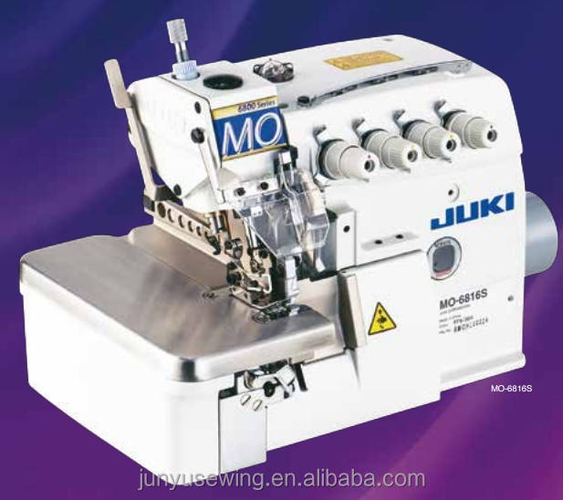 Factory sale new JUKI-6816S overlock sewing industrial in guangzhou, Nice quality ,japan juki sewing machine
