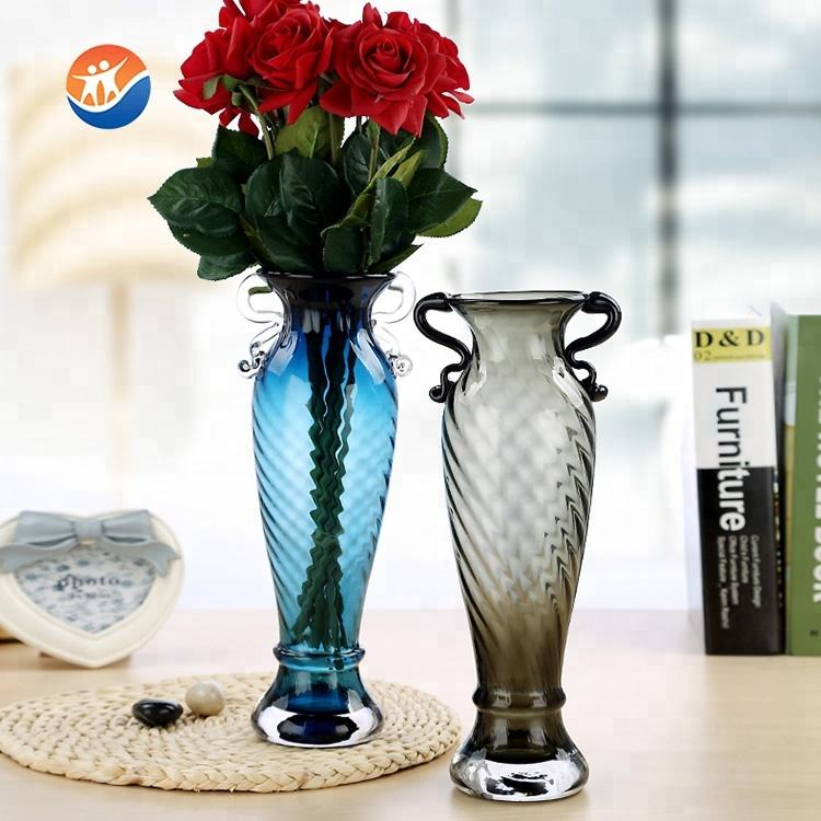 wholesale high quality mermaid shaped glass flower vase for decoration