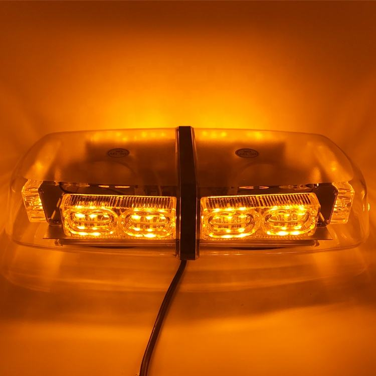 12 inch 36W 36LED emergency flash light bar mini magnetic warning strobe light bar