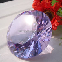 crystal paperweight wholesale wedding gift crystal artificial diamond for memento MH-9465
