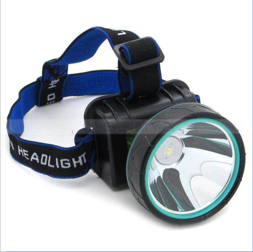 Big Zoom Lens Waterproof 18650 Rechargeable Camping XML 1 LED Miner Headlamp