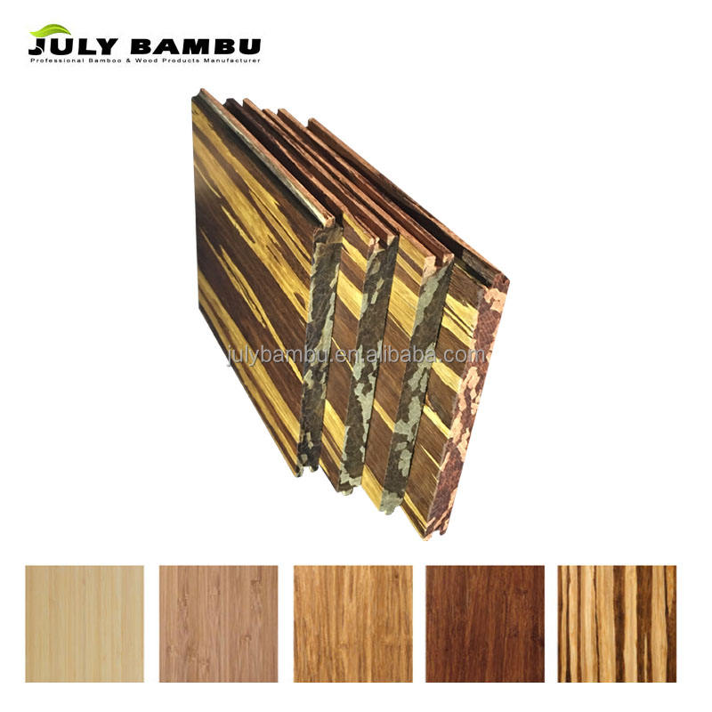 Eco Forest Solid Tiger Click Lock Bamboo Flooring Vietnam