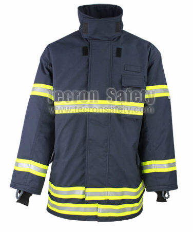 CE EN469 nomex firefighter suit/ fire fighting clothing/fireman rescue workwear