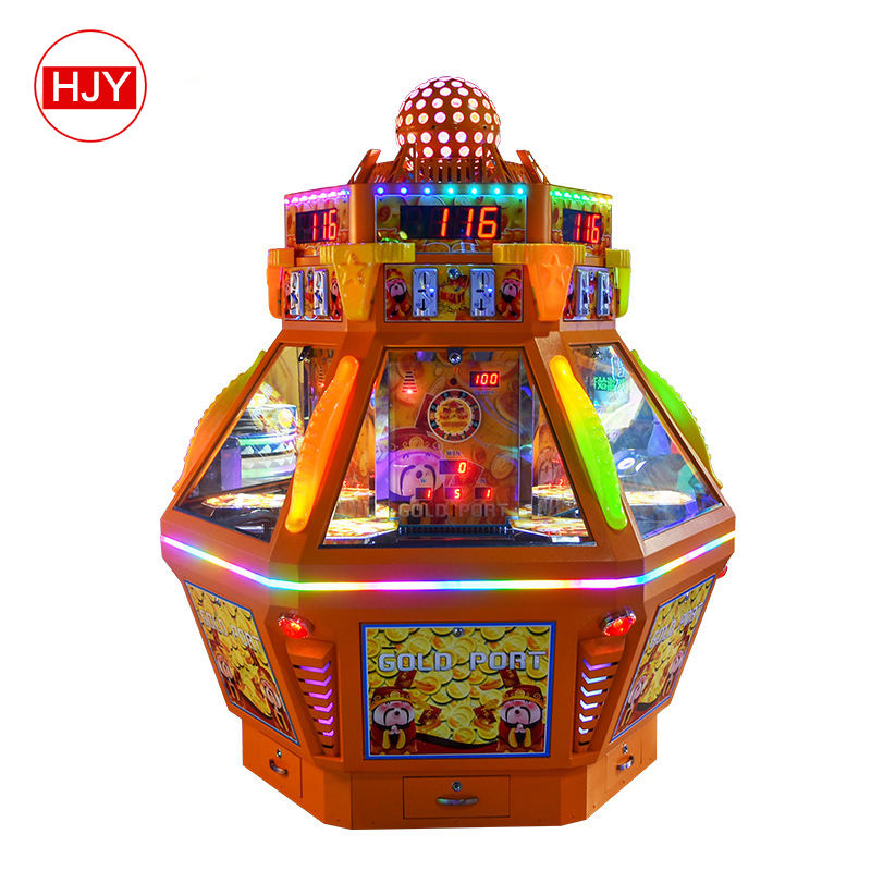 Indoor amusement center push gift win prize vending game machine for sale
