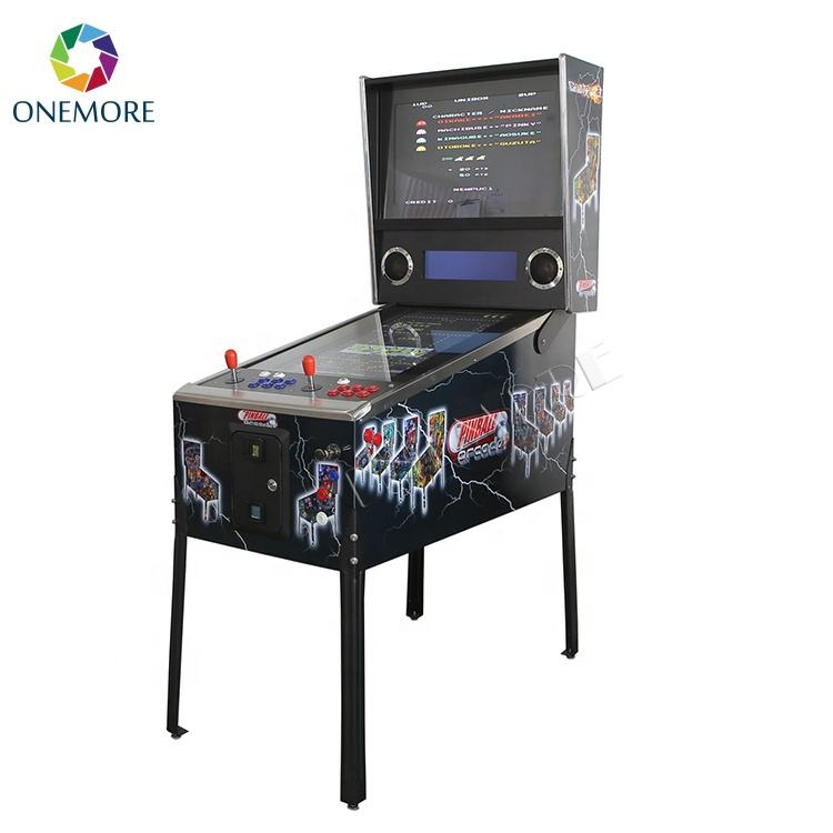Virtual Flipper Pinball+Arcade Game Machine for Amusement