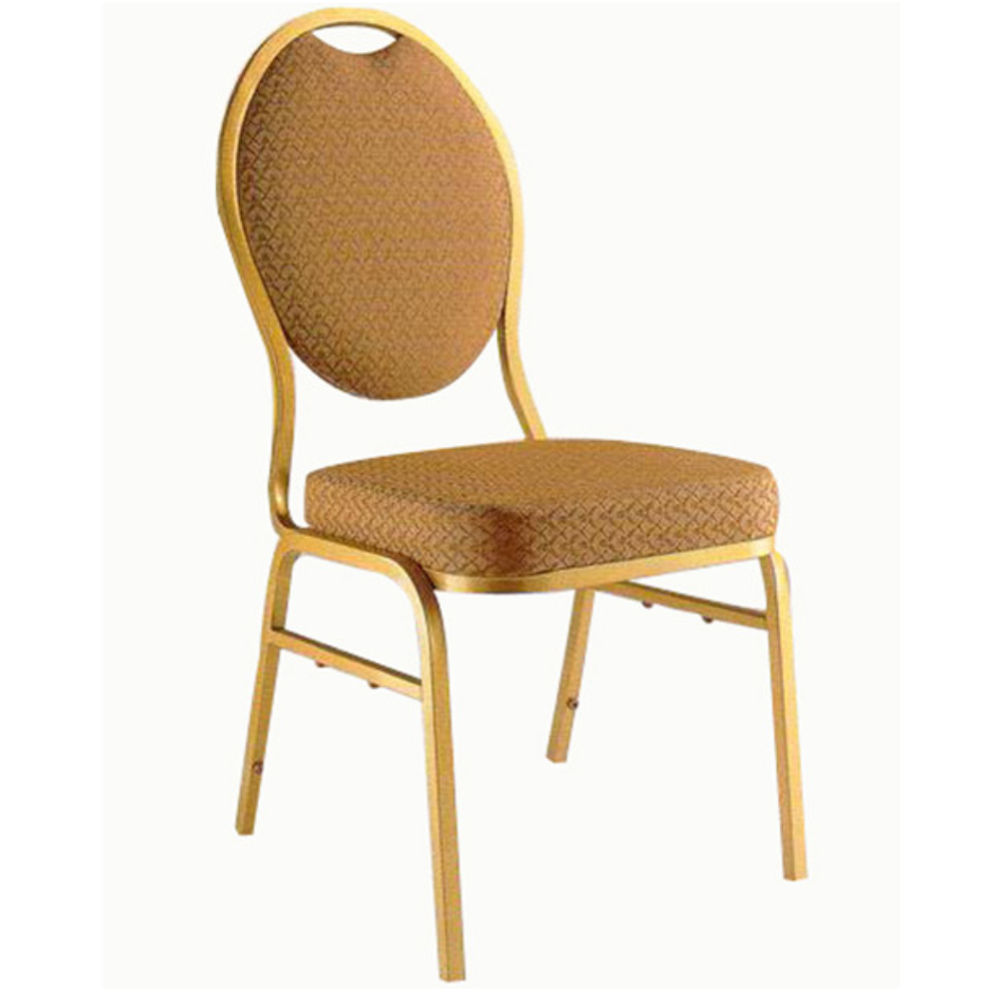 wholesale hotel chair stacking round oval back price steel banquet chair for sale