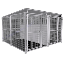 european style dog kennel panel / wrought iron dog kennel