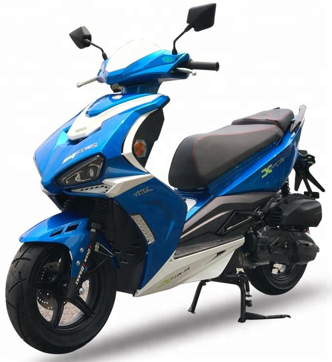 adult 125cc 150cc gas scooter with wholesale cheap price for sale
