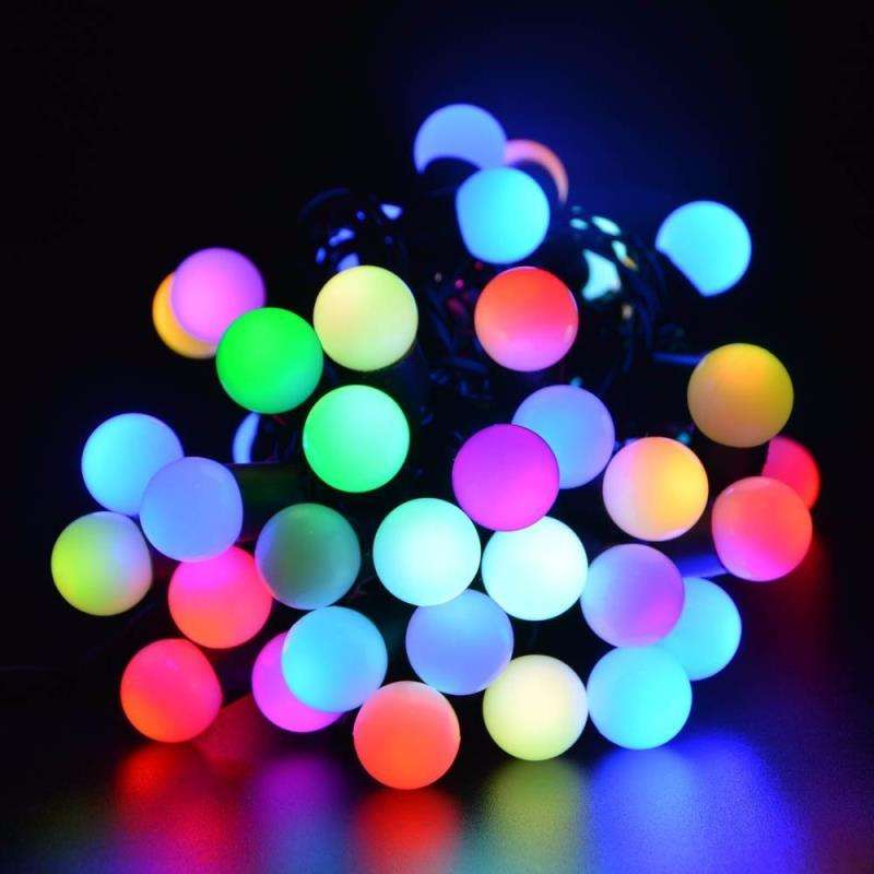 Manufacturer wholesale LED ball lamp string festival decorative lamp string Christmas lamp string