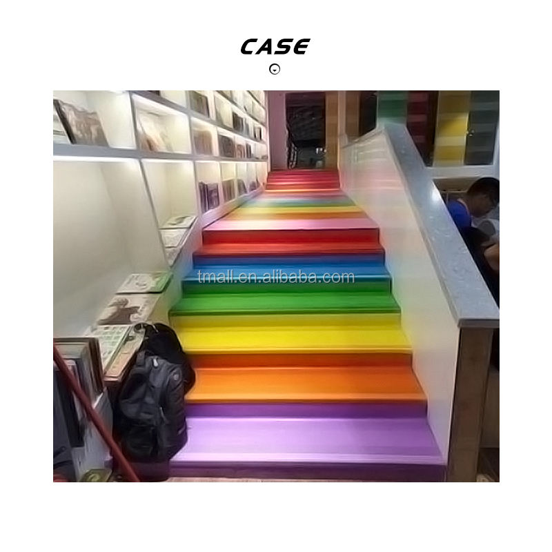 PVC Step Cover Plastic Stair Tread