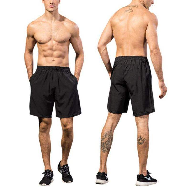 Woxianghe Mens Active Athletic Performance Shorts with Pockets Gymnastics Sports