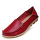 sequins round toe female flats shoes soft leather slip on women flat loafers