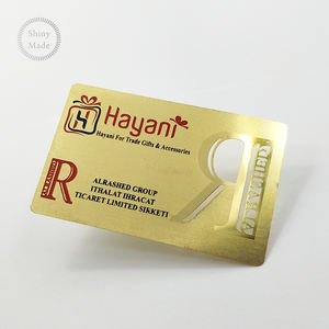 (High) 저 (Quality 금 Printing Business 싼 양각 Business Card Metal Card