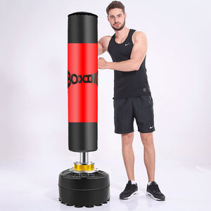 boxing equipment standing punching bag & sand bag