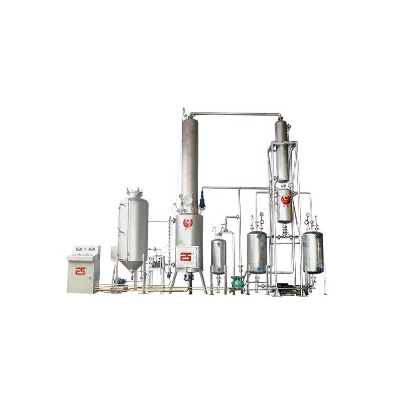 FS-HDM engine oil recycling machine/ Small scael waste motor lube oil distillation plant (used to diesel fuel)