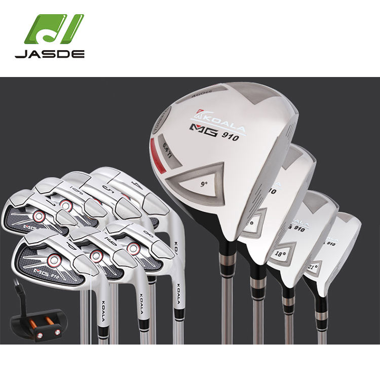 Customized logo oem hight quality 싼 망 easy hit unique golf 클럽 완. sets 와 bag