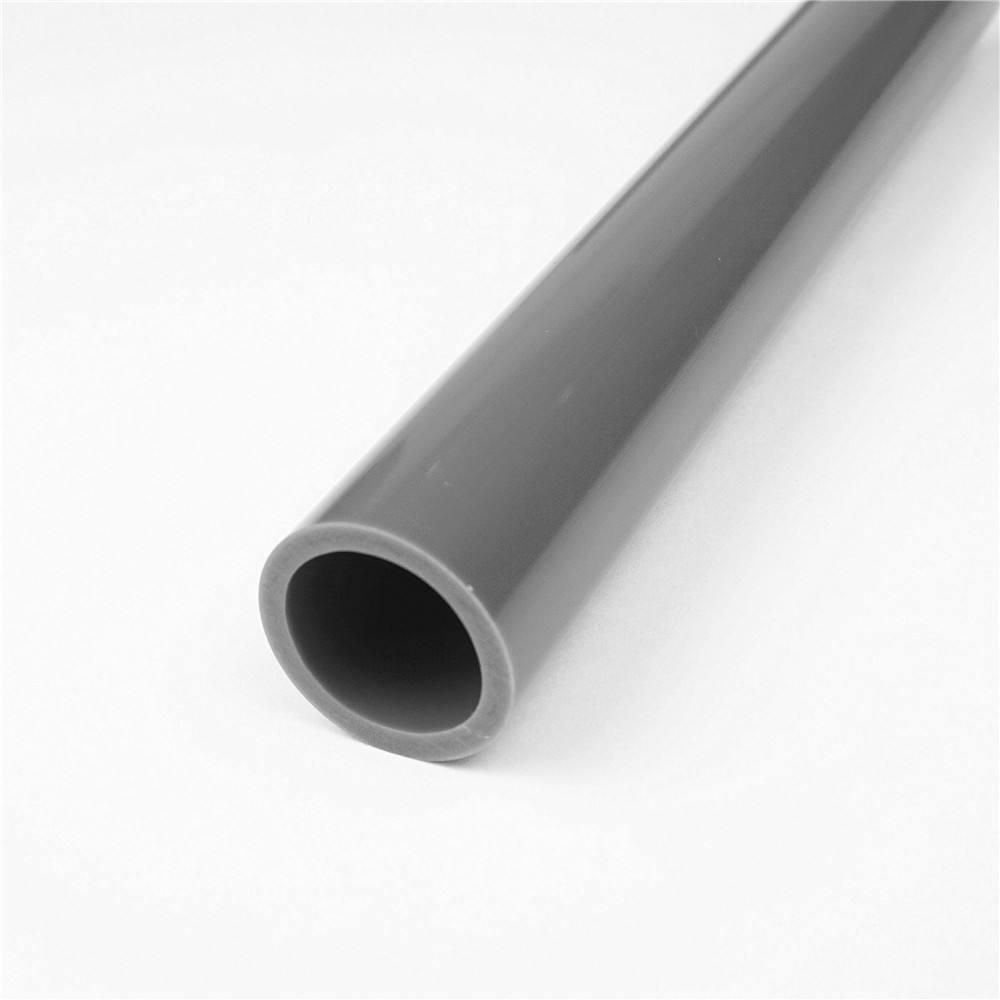 Electric wire tube colored hard PVC pipe construction circular pipe