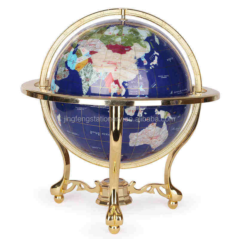 33cm Natural Marble Globe