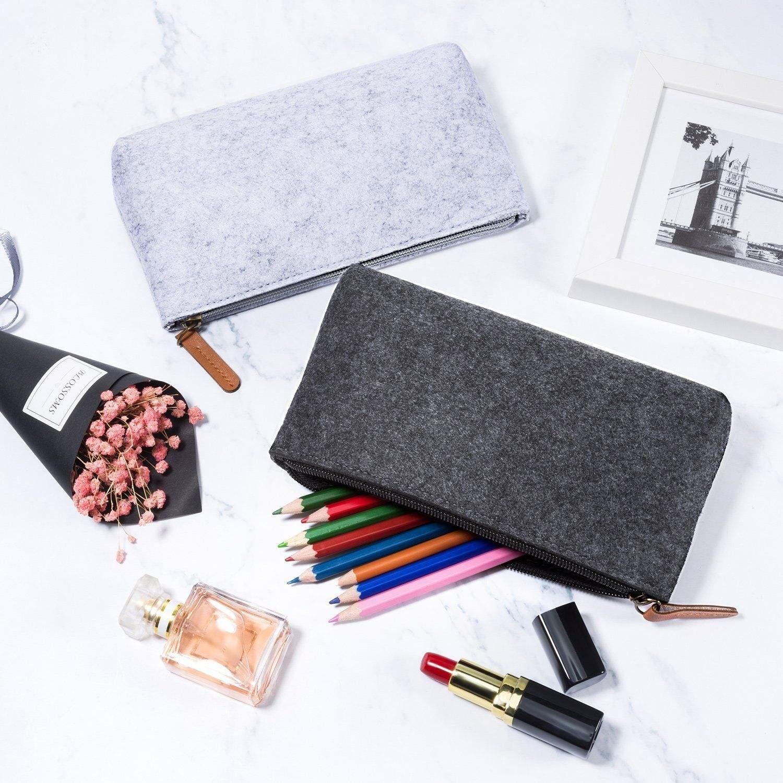 "/""Cute Corn/"" 1pc Silicone Pencil Bag Pens Box Case Pocket Stationery Wallet Purse"