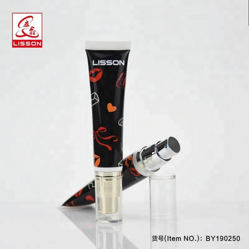10ml 15ml 20ml Airless Pump Plastic Tube For Cosmetic Packaging