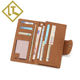 china wholesale card holder custom rfid blocking mens slim travel card slim rfid men's leather wallet for men