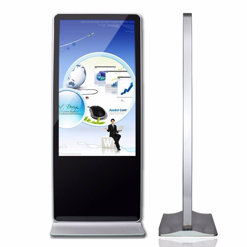 Floor Standing Video Wall Super Slim Floor Standing Kios 32 Inch Captiva <span class=keywords><strong>LCD</strong></span> Layar Iklan <span class=keywords><strong>Digital</strong></span> Signage Kios <span class=keywords><strong>Billboard</strong></span>