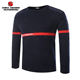 Wool Knitted Navy Blue Men Security Army Military Pullover Jersey