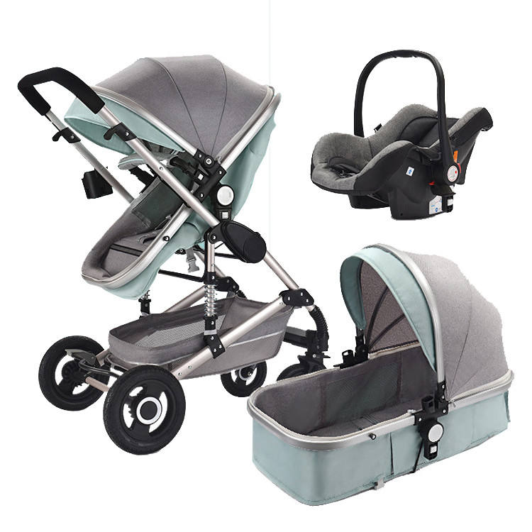 China wholesale baby pram easy carry baby pushchair baby stroller 3 in 1