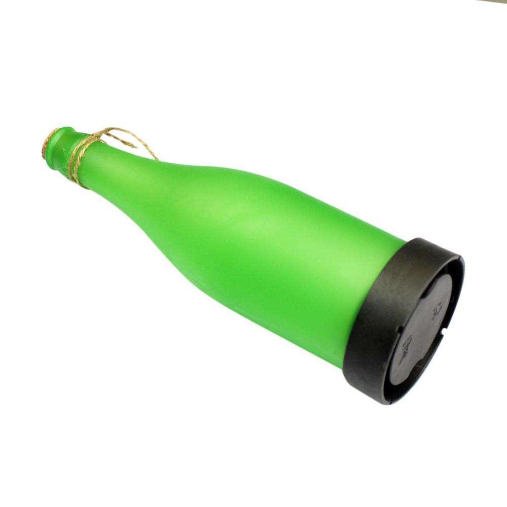 LED Solarlampe Flasche Leuchtflasche Solar Leuchte Solarleuchte Flaschenlicht