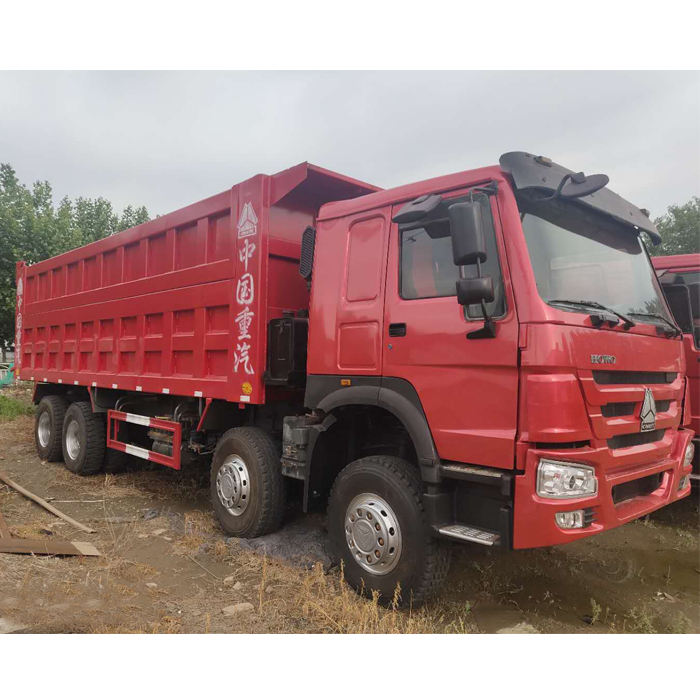 Cheap Good Condition tipper truck used used truck prices used dump truck 8x4